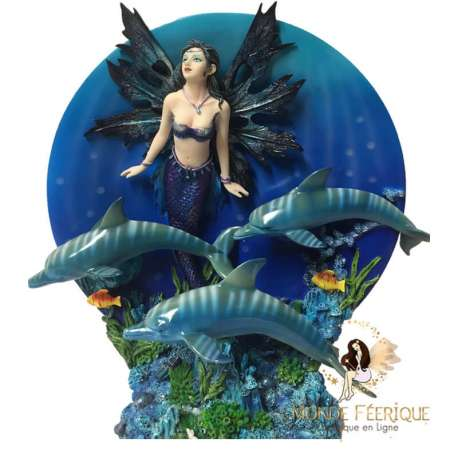 fée avec dauphin