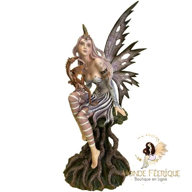 Statuette Fée Dragon Simplicita 55cm