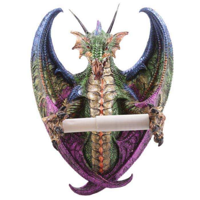 Porte Papier Toilette Dragon 31cm