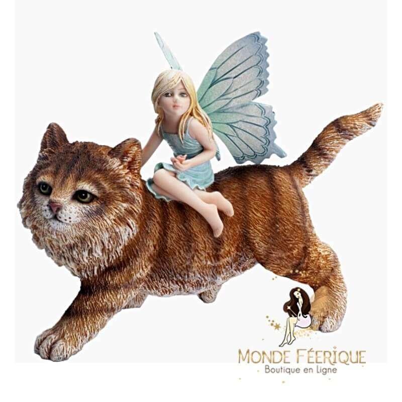 Statuette Fée Le chat