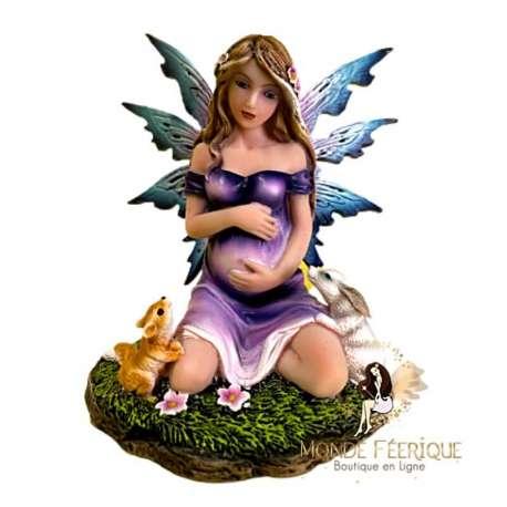 statuette fee enceinte
