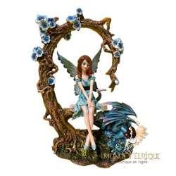 Scène Figurine Fée Clochette