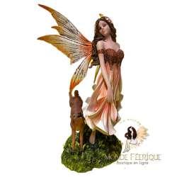 Figurine Fee La Biche -- 30cm