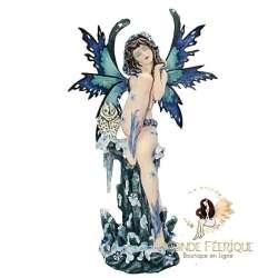 Figurine fée grande taille Hibou -- 50cm