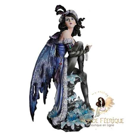 statuette de fée resine