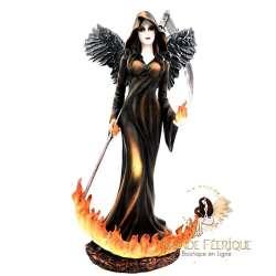 Grande Statue de Fée Enflammée