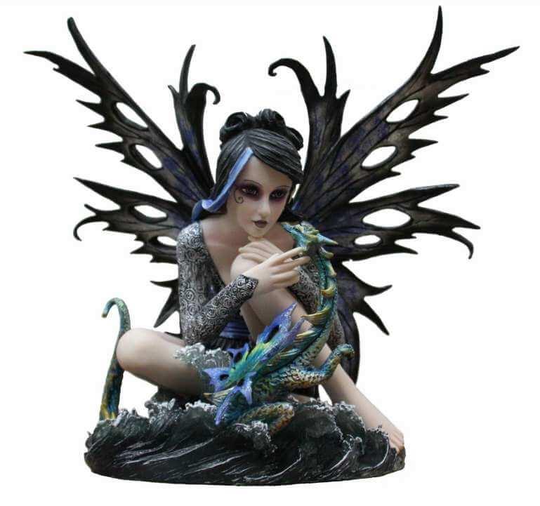 Figurine Fée géante Oracle Dark