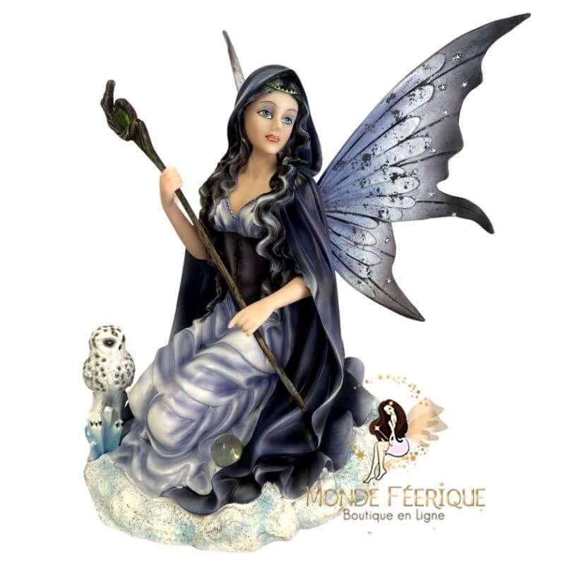 Statuette Fée Geante Magie Féérique -- 27cm
