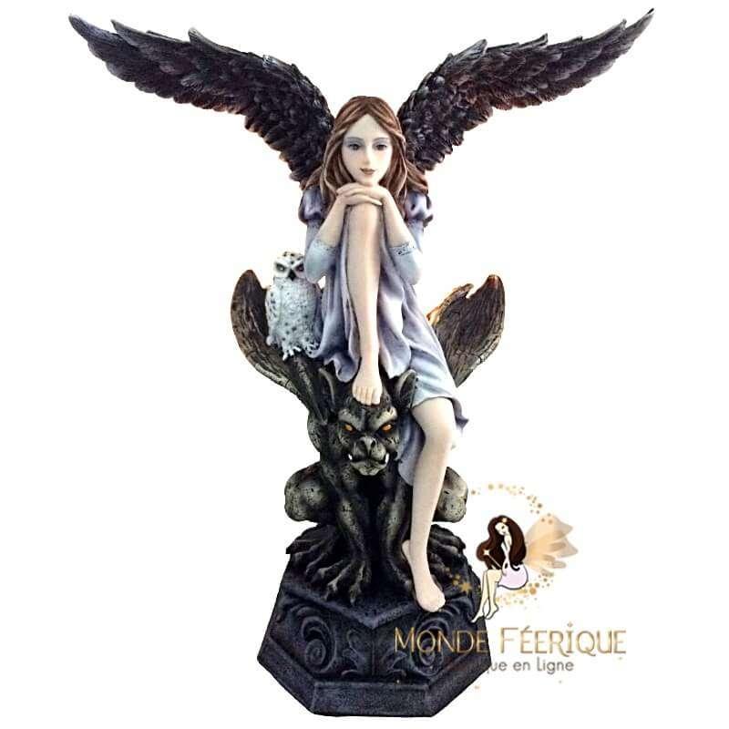 Statue de Fée Gothique Gorgone -- 32cm