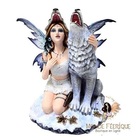 figurine feerique loups