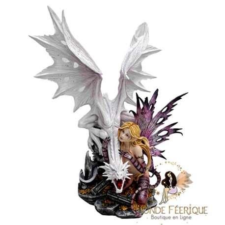 statuette Fée geante dragon