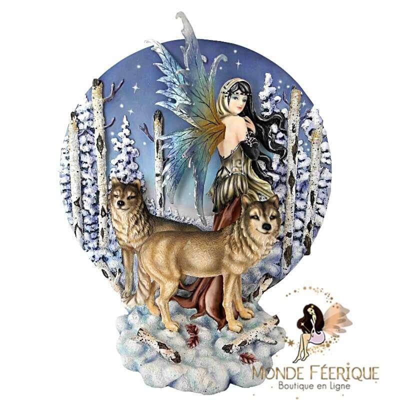 """Scène Féérique """" Décor de Noël"""" -- 26cm"""