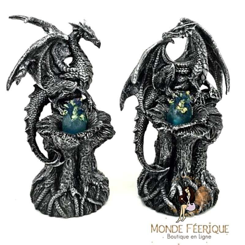 Statuette Dragon Lumineux Ohm