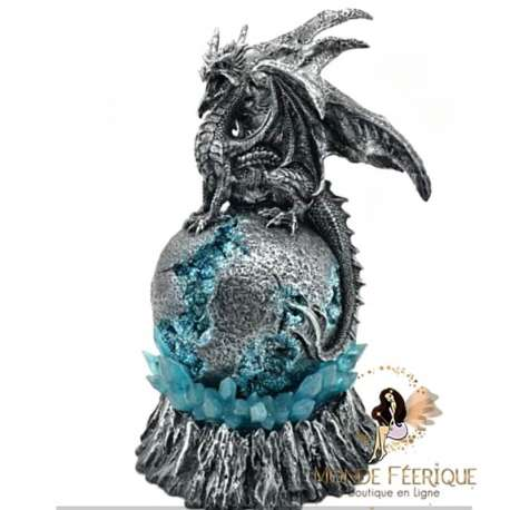 Statuette Dragon Lumineux