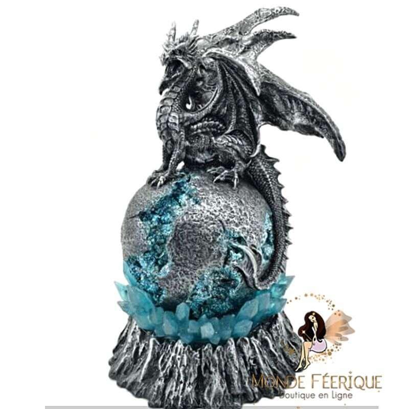 Statuette Dragon Lumineux Fougue 26cm
