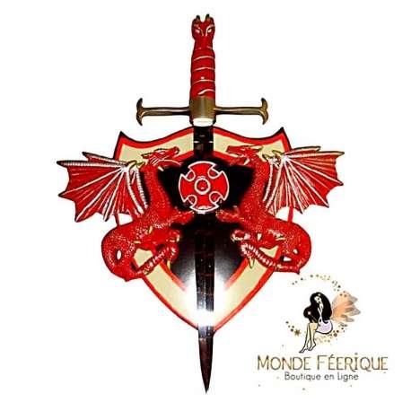Epée avec Deux Dragons