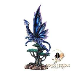 Statuette Dragons Arbustres