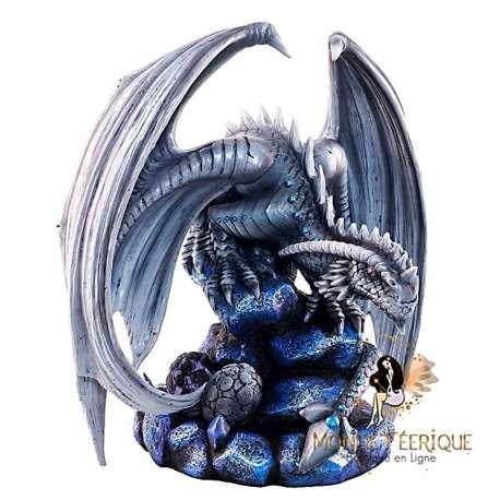 Figurine Dragon bleue