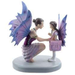Figurine Fée Studieuse Ana -- 18x16cm