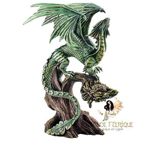 Statue Dragon Vert