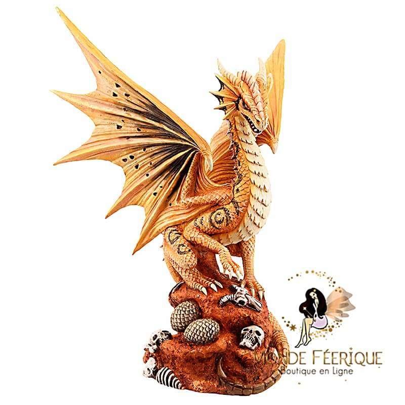 Statuette Dragon Orange Anne Stokes