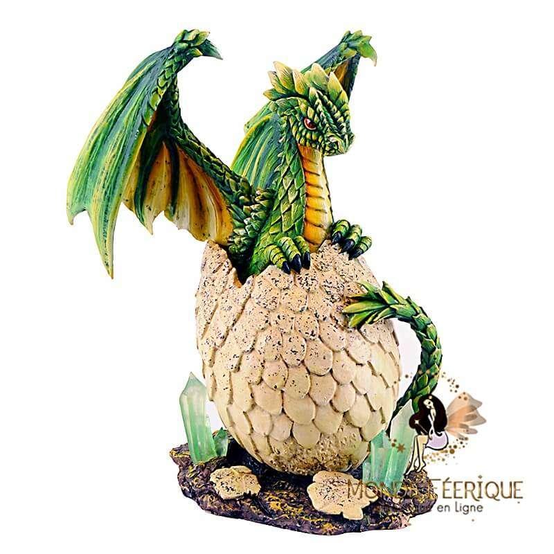 Grand Dragon Vert & OEuf