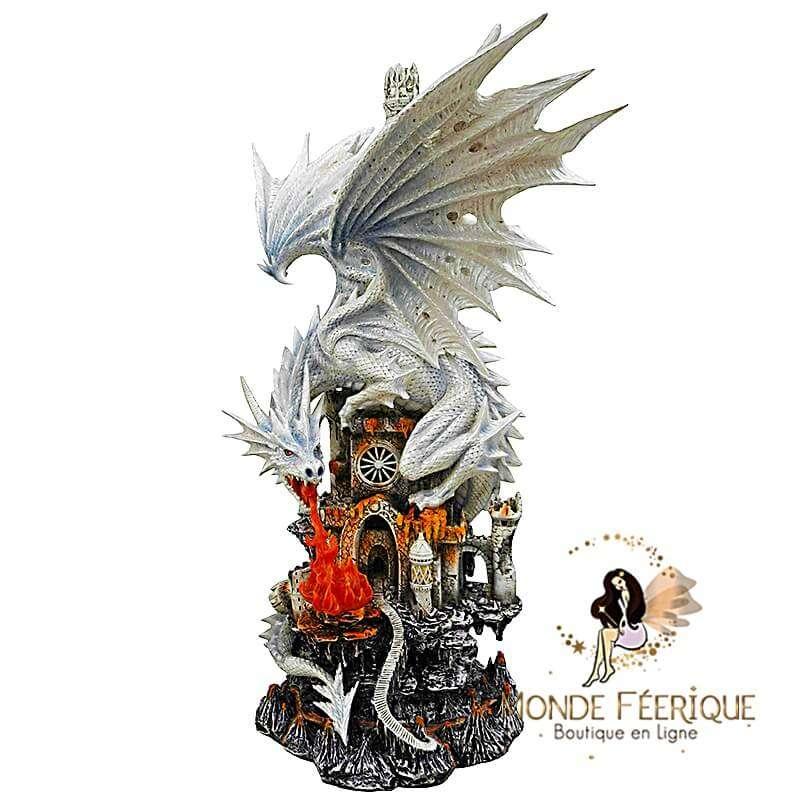 """Statuette Dragon Géant """"Majestic"""" 62cm"""