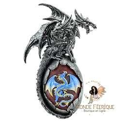 Statuette de Dragon Oeufs Dark Lumineux -- 26cm