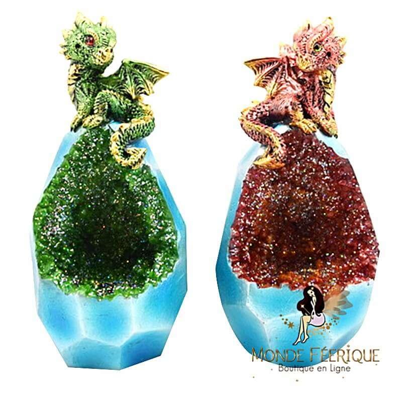 Figurine Dragon Molapo x2