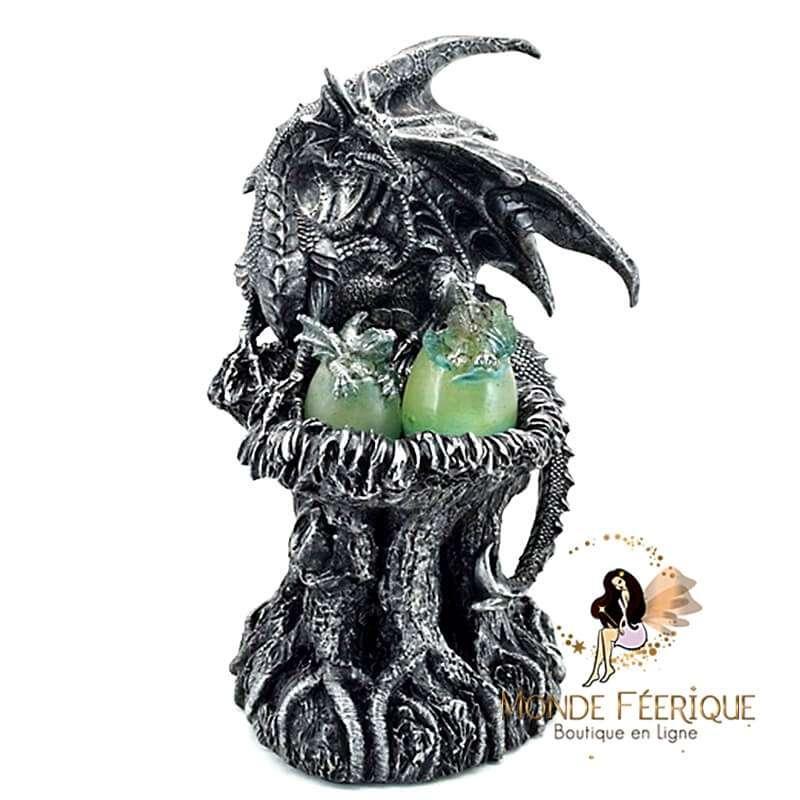 Statuette Dragon Protectrice 24cm