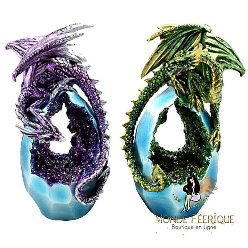Figurine Dragon Emostra x2