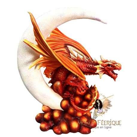 Figurine Dragon La Lune