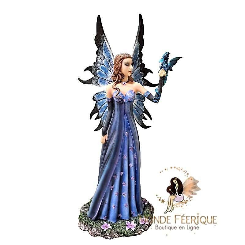 Statuette Fée Dragon Rêve