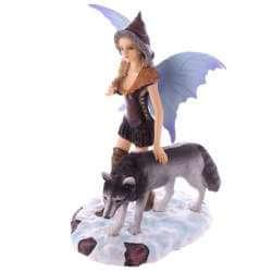 Figurine fée ensorceleuse des Loups