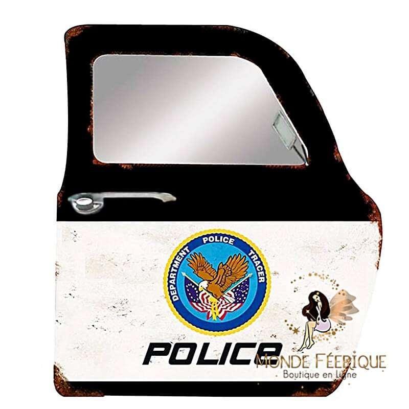 Plaque Vintage POLICE XL