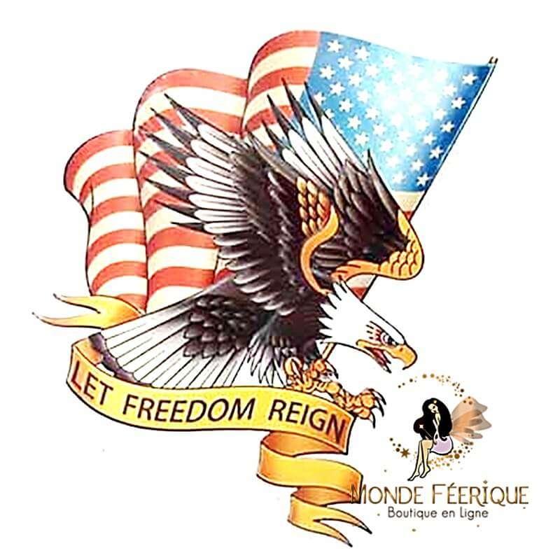 Plaque Vintage USA FREEDOM XL
