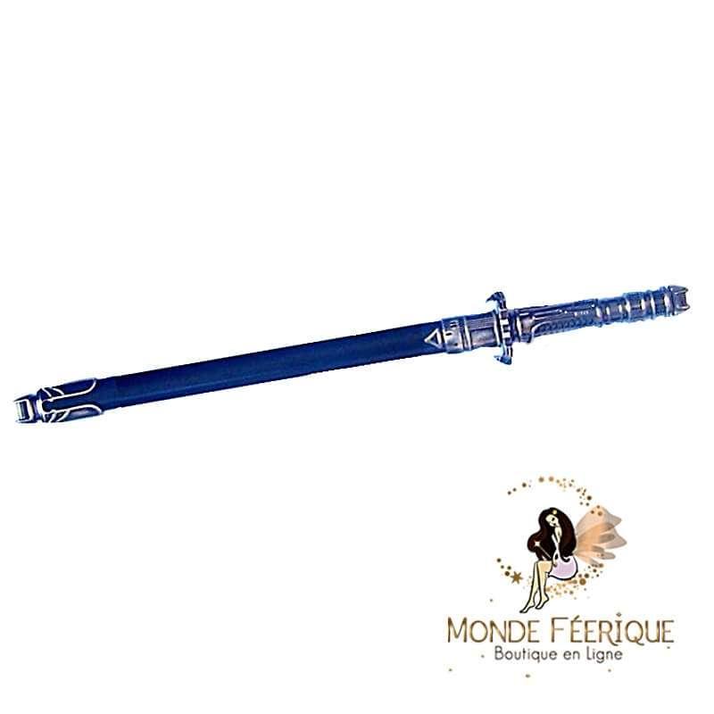 Epée Bleu et acier 31cm