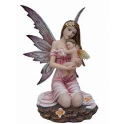 Figurine Fée Naissance -- 24x32cm