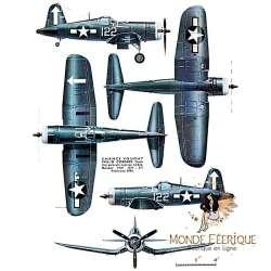 Plaque Déco Mur Avions -- 20x30cm