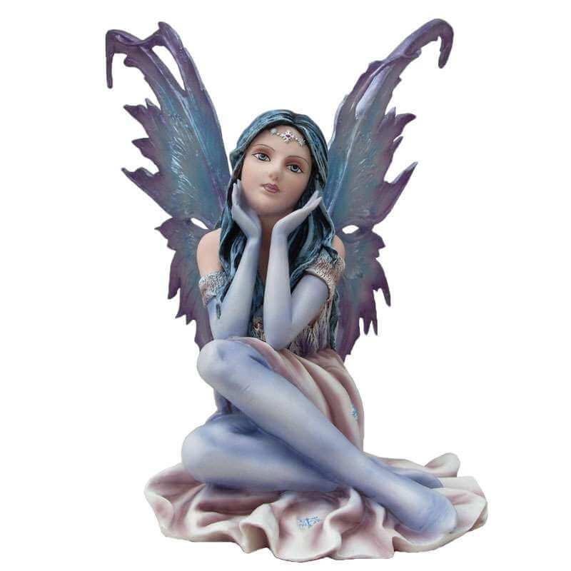 Figurine Fée Géante Emerveillée -- 33cm