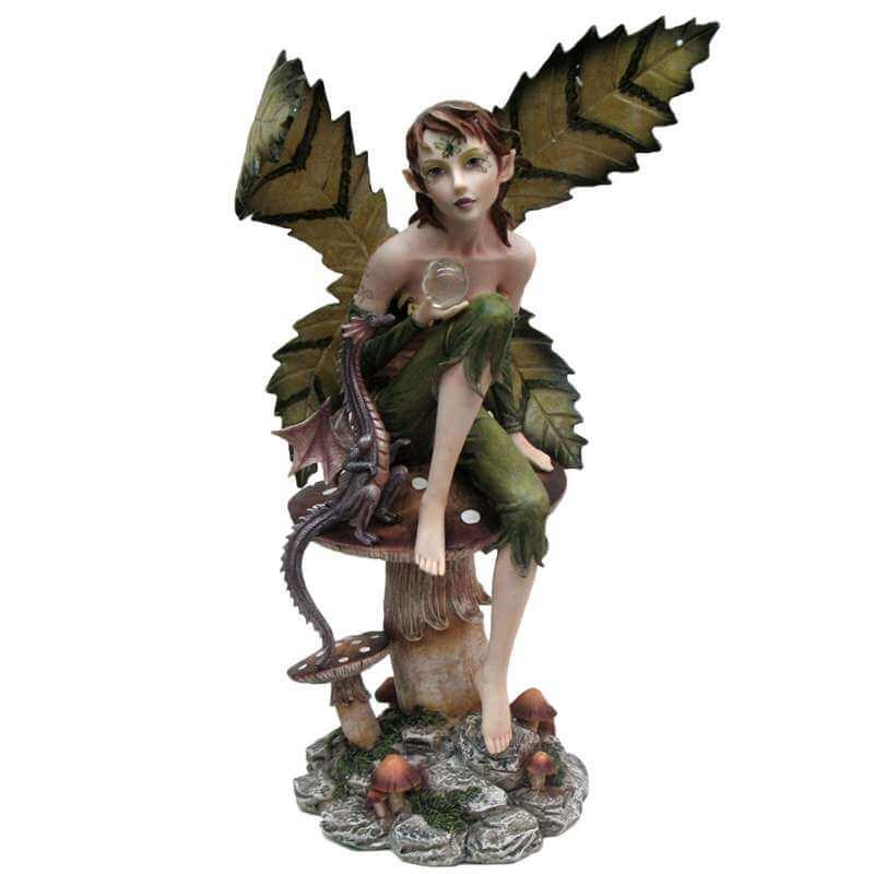 """Statue Fée Géante """"Avenir"""" -- 44cm"""