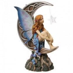 Figurine Fée Clair de Lune 22cm