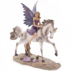 Figurine fée Licorne Fantasy 21cm