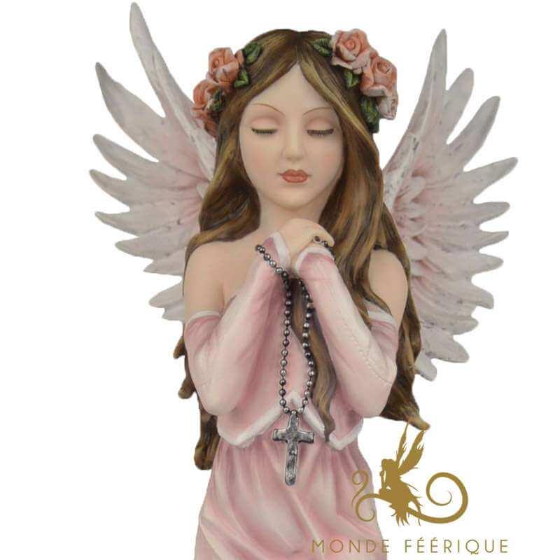 """Grande Statuette Fée """"Le miracle"""" -- 37cm"""