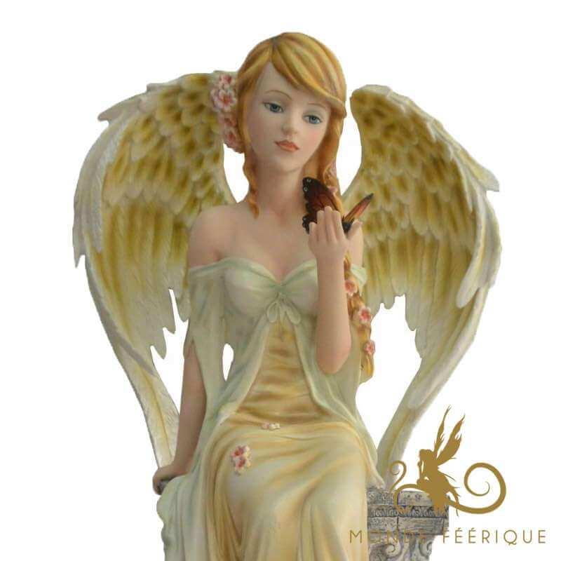 """Statuette Fée Géante Angel """"L'intuition"""" -- 34cm"""