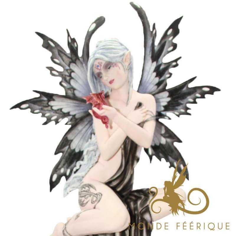 """Statuette Fée Géante """"La tranquilité"""" -- 52cm"""