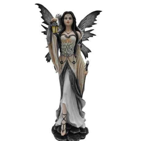 "Grande Statuette Fee Geante ""Guidance"" 65cm"