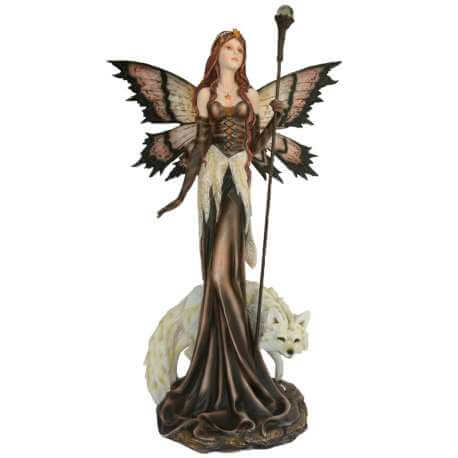 géantes féées figurines fées geant loups