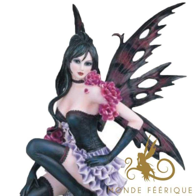"""Statue Fée Géante """" Envoute Moi!"""" -- 51cm"""