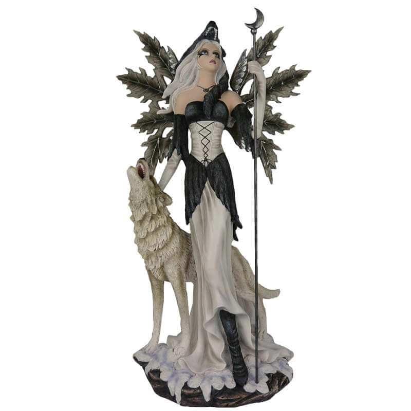 Grande Figurine Fée Géante Sauvage -- 60cm